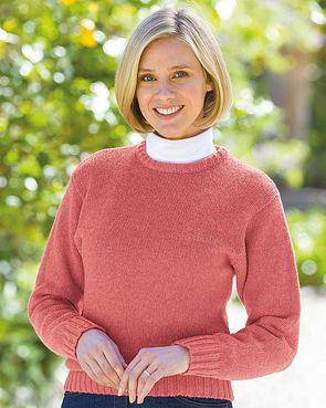 Shetland Sweater - Geranium
