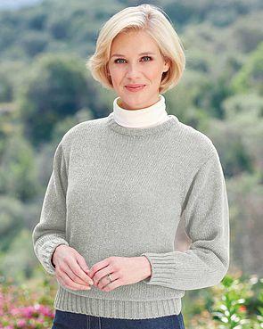 Shetland Sweater - Grey