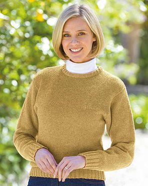 Shetland Sweater - Maize
