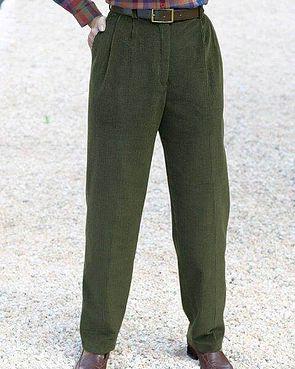 Corduroy Trousers  Ladies