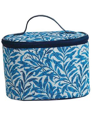 Tapestry Vanity Bag - Willowbough blue