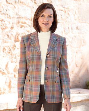 Craigleith Multi Coloured Pure Wool Jacket
