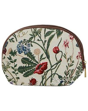Tapestry Cosmetic Bag - Floral