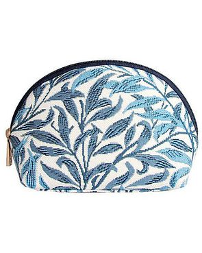 Tapestry Cosmetic Bag - Willowbough blue