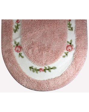 Roses Bath Mats - Pink