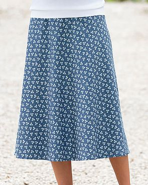 Ashleigh Multi Coloured Pure Cotton Skirt