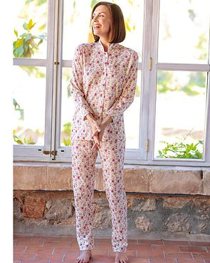 Victoria Silky Cotton Jersey Pyjamas