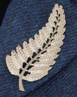 Fern Leaf Brooch