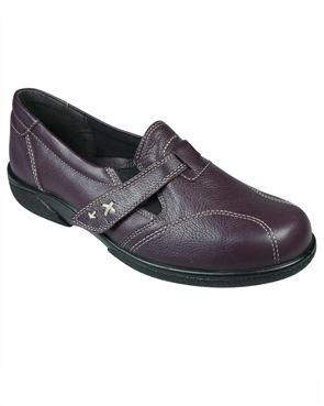Easy B Velcro Leather Madrid Shoe