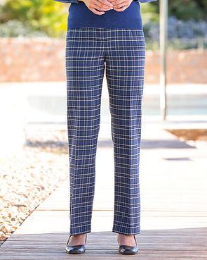 Amalfi Multi Coloured Wool Blend Trousers