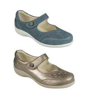 DB Wider Fit Miranda Soft Leather Shoe