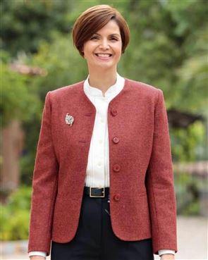 Rothbury Pure Wool Russet Tweed Jacket