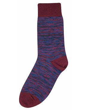 Tenderfoot Marl Socks - Purple