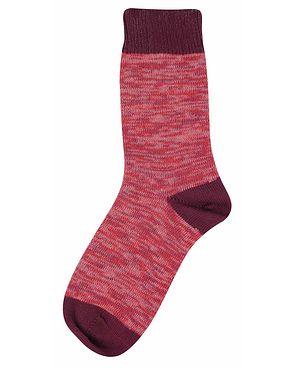Tenderfoot Marl Socks - Red