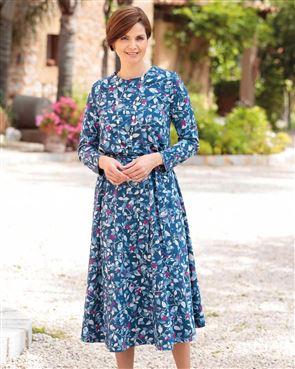 Flora Pure Cotton Floral Dress