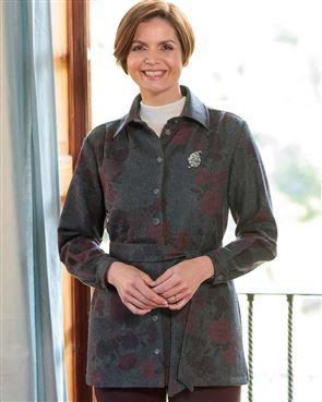 Beverley Wool Mix Floral Jacket