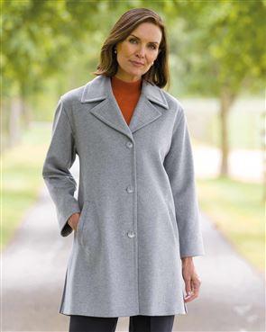 Grey Buckland Coat