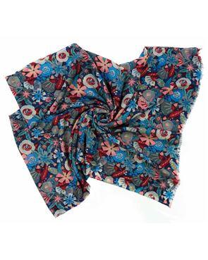 Flora Wool Scarf