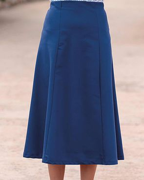 Easycare Pull On Skirt - Navy