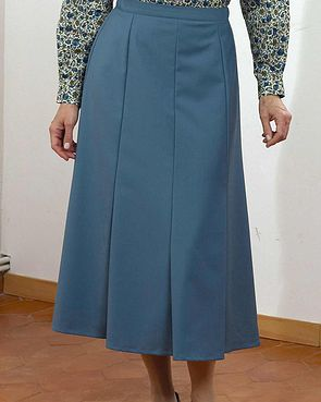 Sandown Skirt  - Airforce Blue