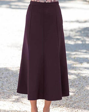 Sandown Skirt  - Damson