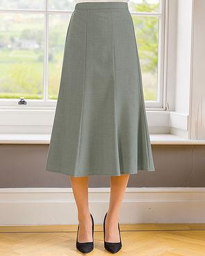 Sandown Skirt  - Light Olive