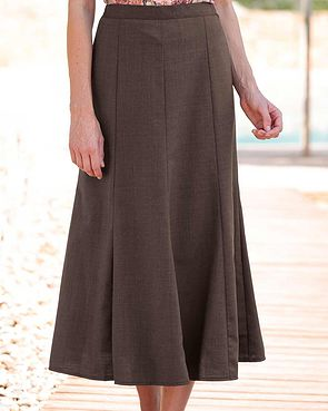 Sandown Skirt  - Mocha