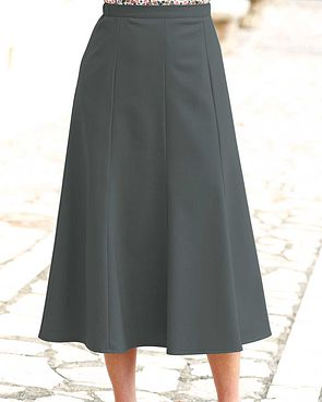 Sandown Skirt  - Slate