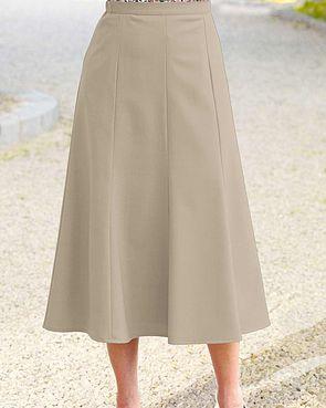Sandown Skirt  - Stone