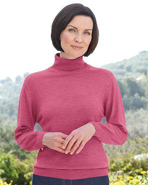 Merino Roll Neck Sweater