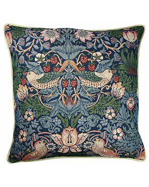 Tapestry Cushion - Blue