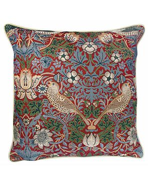 Tapestry Cushion - Red