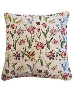 Tapestry Cushion - Tulip