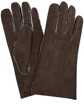 Lambskin Gloves - Brown