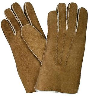 Lambskin Gloves - Tan