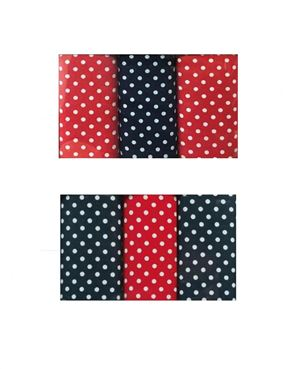 Pure Cotton Spotted Hankerchiefs