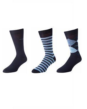 3 Pack of Pattern Jockey Socks
