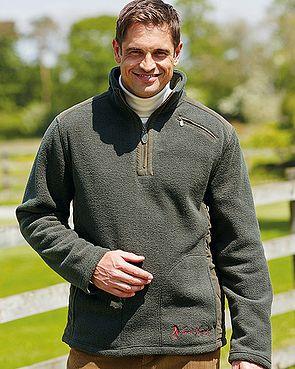 Fleece Sweatshirt Style Jacket
