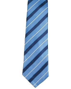Silk Ties - Blue Strip