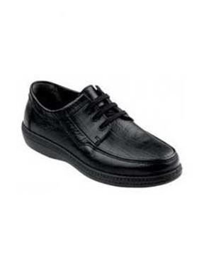 Padders Black Lace-up Shoe