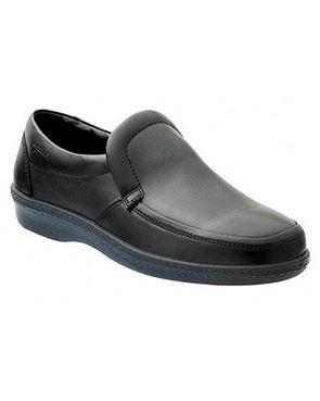 Black Padders Slip On Shoe
