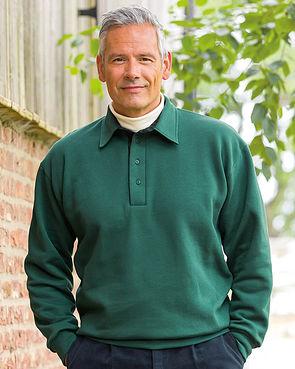 Trimmed Sweatshirt - Green