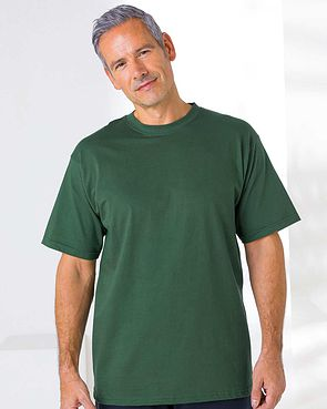 Crew Neck T Shirt - Green