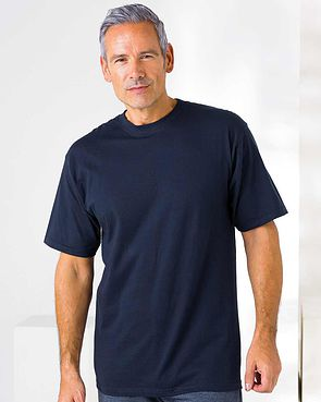 Crew Neck T Shirt - Navy