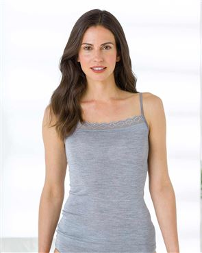 Wool Touch Ribbon Strap Cami