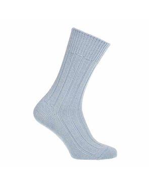 Alpaca Bed Socks - Pale Blue