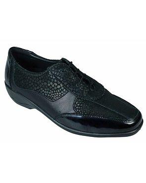 Padders Quartz Shoe - Black