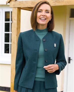 Farley Pure Shetland Wool Jacket