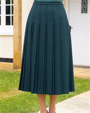 Farley Pure Shetland Wool Skirt