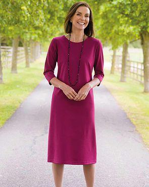 Belle Dress - Raspberry